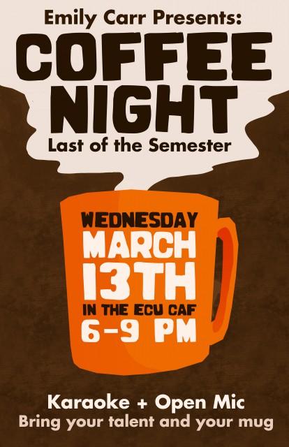 Coffee Night March -flat